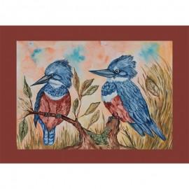 Aves Chilenas Martin Pescador