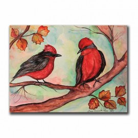 Aves Chilenas Vermilion